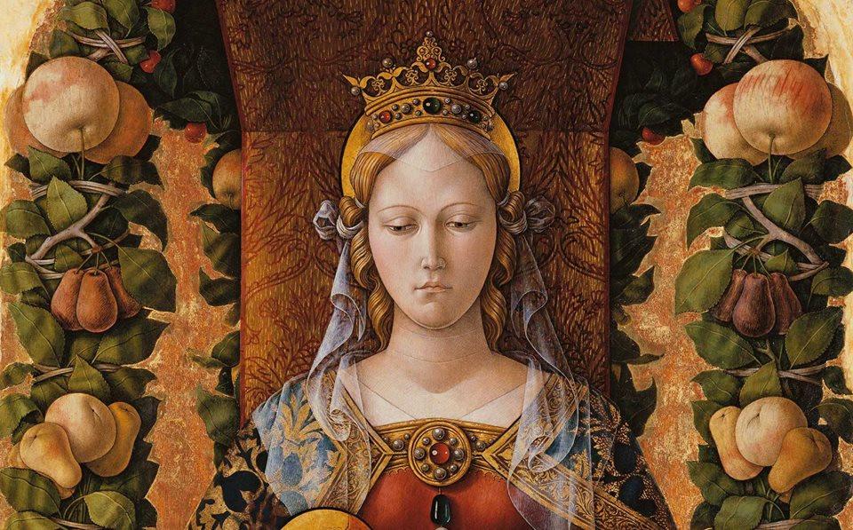 Detail of the Madonna della candeletta, 1490